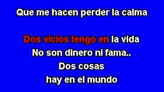 Ezequiel Peña - Mis dos Vicios Version Banda - Karaoke