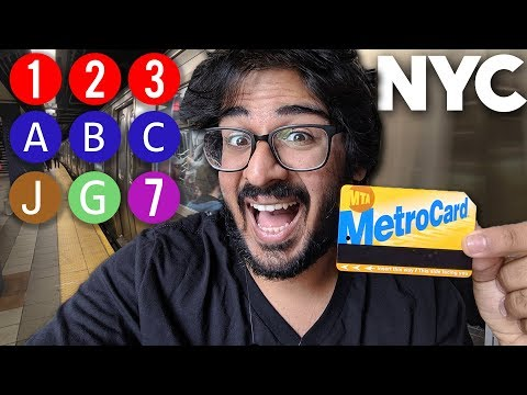 New York City Public Transportion Guide - Subways, Buses, & Ferries EXPLAINED!