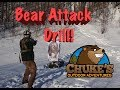 Charging Bear Attack Drill: Would You Survive? Part 2 with Alaskan Ballistics.