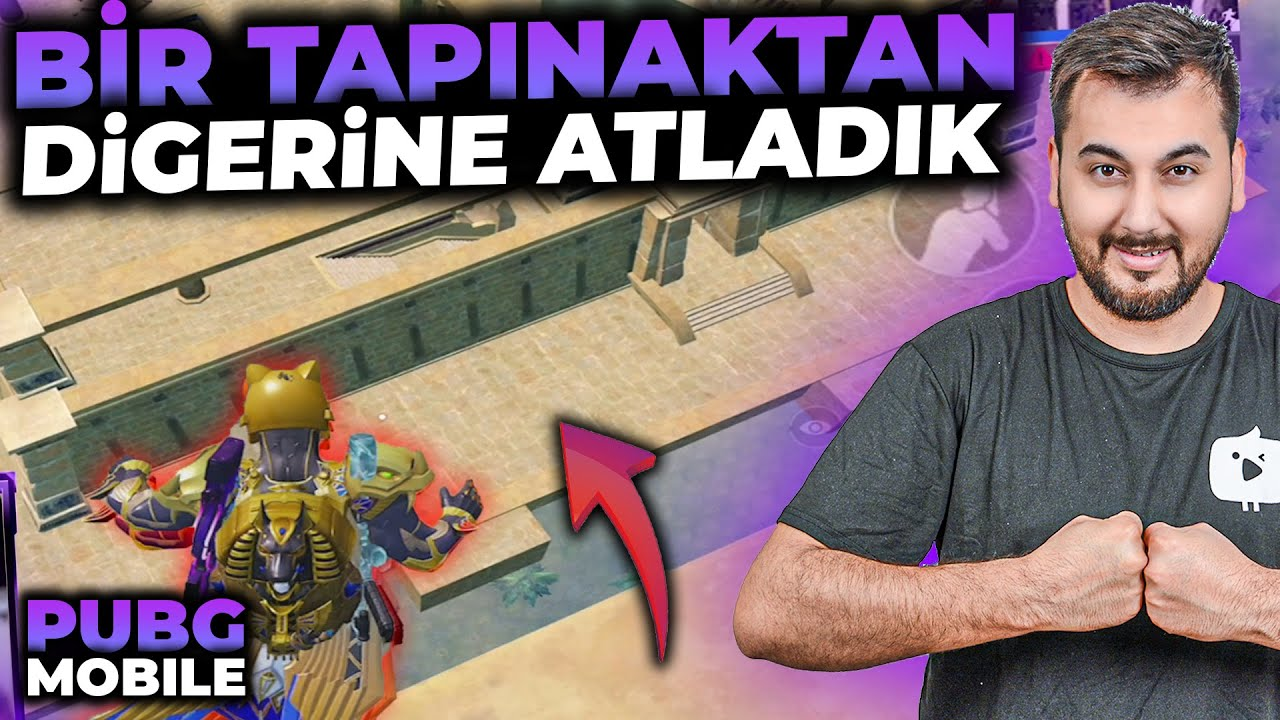 BİR TAPINAKTAN DİĞERİNE ATLADIK / PUBG MOBILE