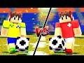 BRASIL vs SUIÇA NA COPA DO MUNDO NO MINECRAFT !!
