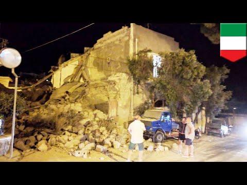 Earthquake in Italy 2017: Chaos as Ischia island rocked by 4.0 magnitude quake - TomoNews
