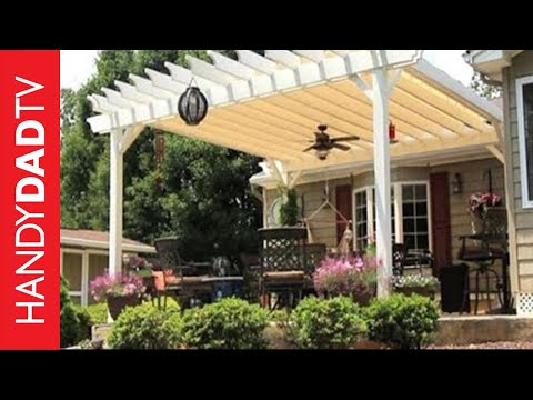 Build a Curved Pergola for $800 - YouTube