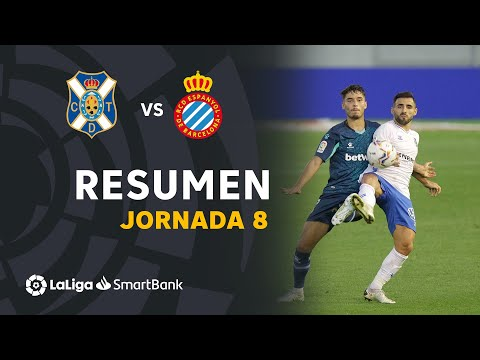 Tenerife Espanyol Goals And Highlights