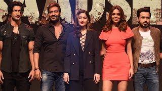 Baadshaho Trailer Launch Full HD   Ajay Devgn, Ileana D'Cruz,Emraan Hashmi,Esha Gupta,Vidyut Jammwal