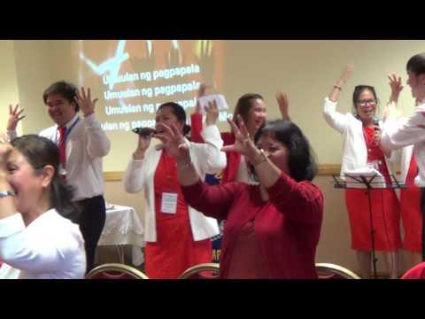 El Shaddai Dublin Chapter GAWAIN praise and worship - Aug. 13, 2016