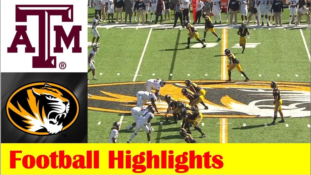 Download #21 Texas A&M vs Missouri Football Game Highlights 10 16 2021