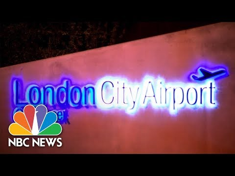 Unexploded WWII Bomb Closes London Airport | NBC News