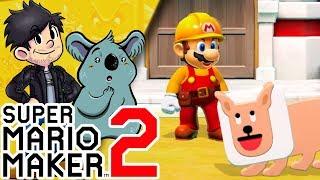 A CONSTRUIR!! | 🔨 Modo Historia de Super Mario Maker 2 🔨 | Ep 1 en Español con -- RED SHOCK --