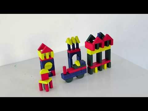 Make These Children's Wooden Bricks - DIY