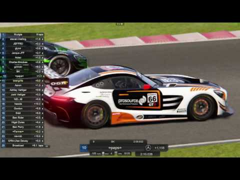 ASRNZ 17 S1 R2 Race 2 Broadcast Assetto Corsa Slovakiaring