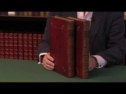 Plinius Secundus, The Historie of the World, 1601. Peter Harrington Rare Books.