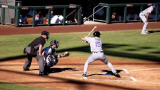 Tim Tebow Hit By Pitch