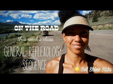 REFLEXOLOGY- General Session Addressing Zones