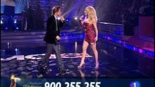 """Marta Sánchez y Carlos Baute Gala · Colgando en tus manos · """"Gala FAO 2008"""""""