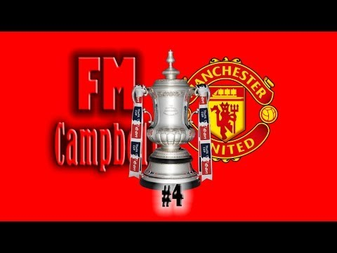 Football Manager 2014 | Man United | 4 | Controversial FA Cup Final - LIVE