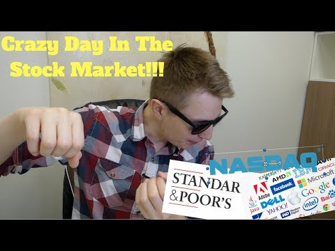 A Crazy Day in the Stock Market!!! - Stock Market News Today