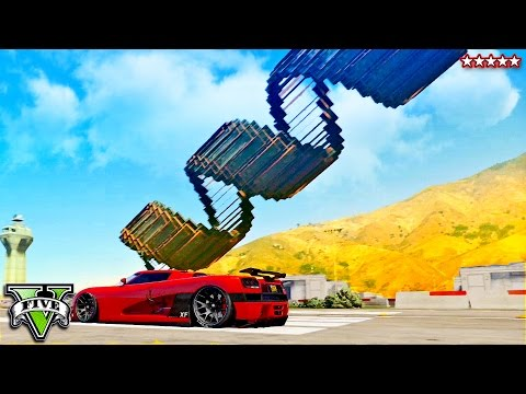 GTA 5 Hike VS Aunt Chelsea!! NUCLEAR RAIL GUN CUSTOM MAP w/The PS4 Crew (GTA 5 Funny Moments)