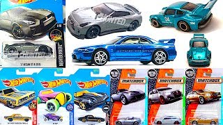New Hot Wheels Nissan GT-R Models, Toys R Us Exclusives And 2017 Matchbox H Case Cars!
