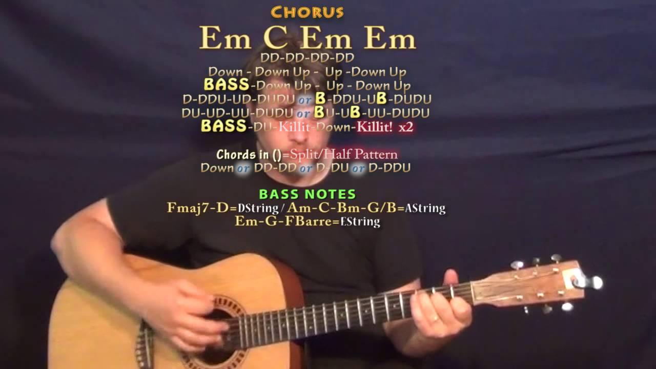 Black Beatles Rae Sremmurd Guitar Lesson Chord Chart Youtube