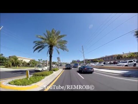 Driving St. Pete Beach, Florida Spring Break 2016