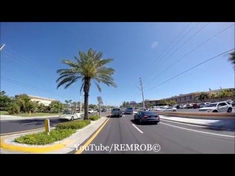 Driving St. Pete Beach, Florida Spring Break 2016