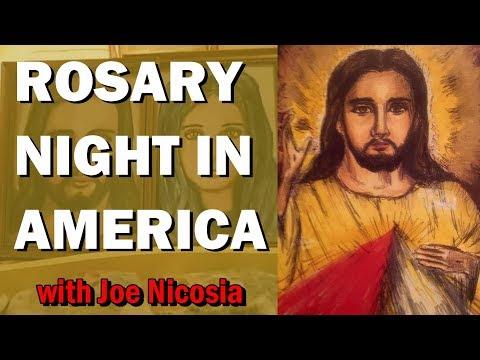 ROSARY NIGHT IN AMERICA with Joe Nicosia - Sep. 14th, 2019