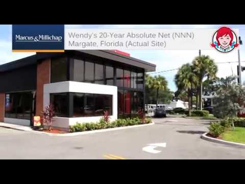 Wendys 20-Year Absolute Net Lease Margate Florida | Ben-Moshe
