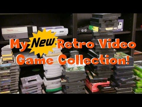 My NEW Retro Video Game Collection!