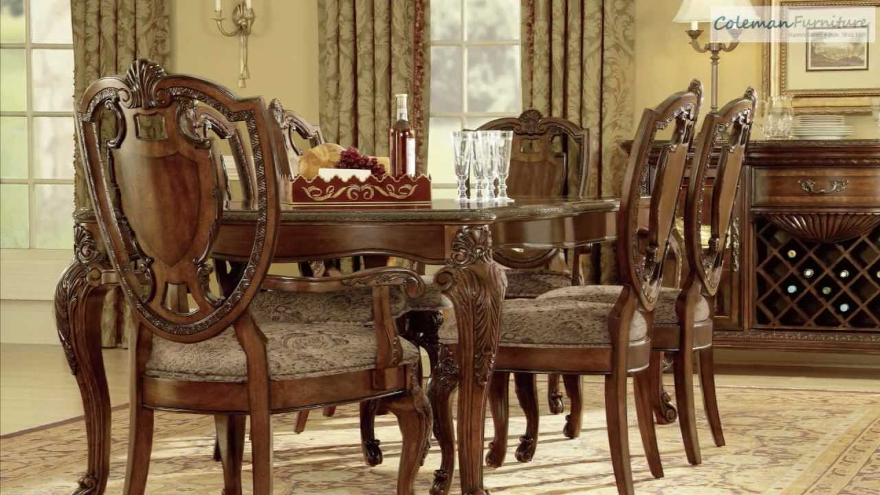 old world leg dining room collection from art furniture youtube