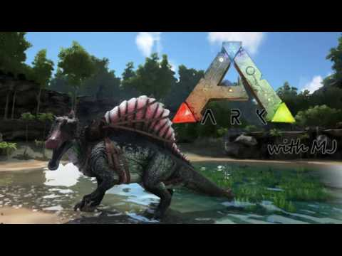 ARK: Survival Evolved with MJ: Building a treehouse