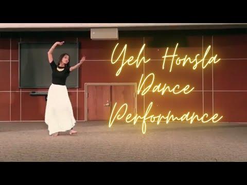 Yeh Honsla Dance Performance - Republic day, AID Cincinnati chapter.