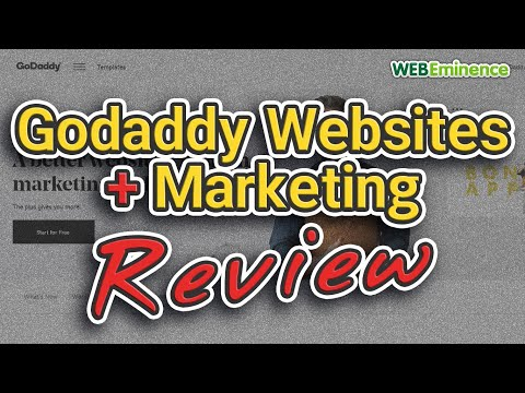 Godaddy Websites + Marketing – Review and Impressions – Godaddy Website Builder and Marketing in One