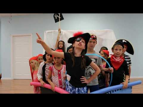 """Pirates vs Octopus"" Movie Summer Camp - Universe DanceArt - Ottawa"