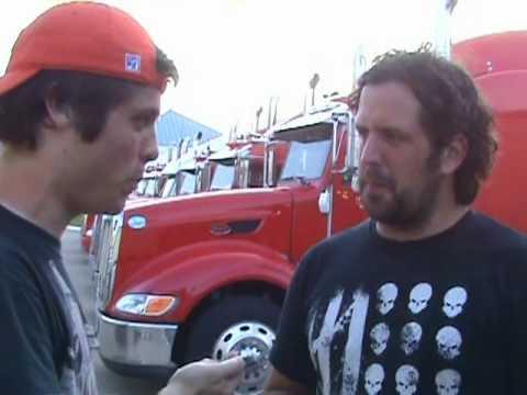 2010 Rockstar Mayhem Fest Dallas: Chris Raines Interview