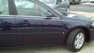 #8695 2007 Chevy Impala Sunroof Dekalb Near Sycamore Il