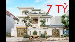 Khám Phá Căn Biệt Thự Tân Cổ Điển 7 Tỷ Biệt Thự 3 Tầng Bà Mai - Hưng Yên
