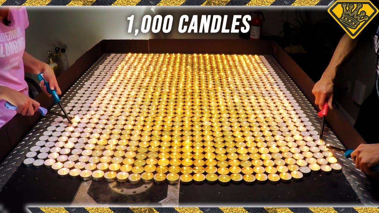 Deep Voice Gas vs 1,000 Candles