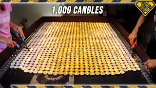 """In today's video we're showing what happens when you dump tons of the """"deep-voice"""" gas SF6 on one thousand candles!  Check out Nick's video: https://goo.gl/utav1b  Subscribe & """"Ring the Bell"""": https://goo.gl/618xWm  Get TKOR Merch: https://goo.gl/i5ehRg  See What Else I'm Up To:  Instagram:https://goo.gl/C0Q1YU Facebook:https://goo.gl/EWo7S7 Pinterest:https://goo.gl/Gbffq4  Business Inquiries: For sponsorship requests or business opportunities please contact me directly: https://goo.gl/Z2L6yM  WARNING:  This video is only for entertainment purposes. If you rely on the information portrayed in this video, you assume the responsibility for the results. Have fun, but always think ahead, and remember that every project you try is at YOUR OWN RISK.  ✌️👑  RANDOM NATION: TRANSLATE this video and you'll GET CREDIT! Click Here: https://goo.gl/AfJZVm  Want credit TRANSLATING other videos? Click Here to see where else you can contribute: https://goo.gl/Dmpwbq  THANK YOU!! ✌️👑"""