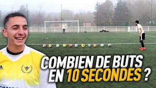 LE MAXIMUM DE BUTS EN 10 SECONDES !!!