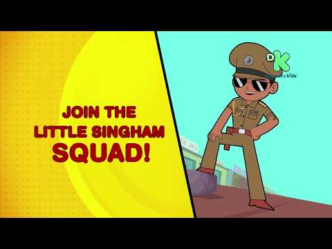 Little Singham Squad | Little Singham Coming Soon to Your School | Discovery Kids