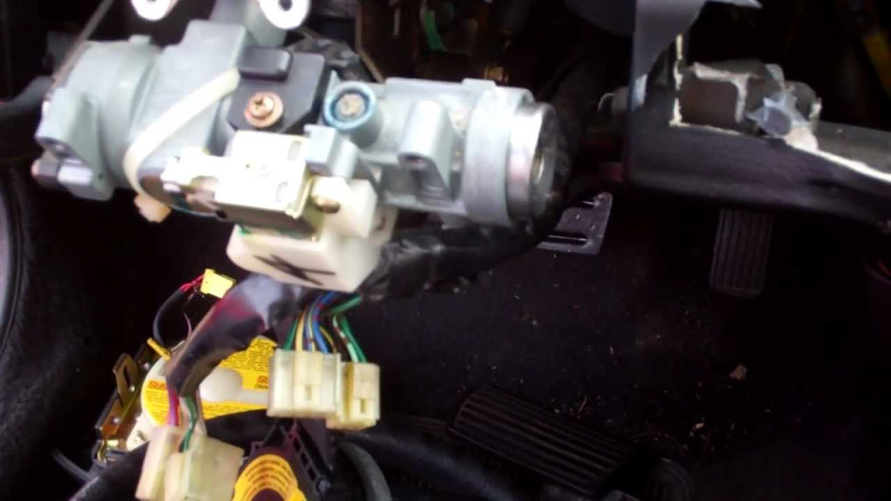 hight resolution of re 92 95 honda civic lock cylinder replacement youtube rh youtube com 2007 honda civic ignition wiring diagram honda civic ignition switch wiring diagram