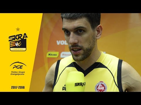 Facundo Conte post-match interview after PGE Skra - Shanghai Volleyball Club 3-0