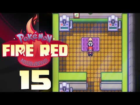 LET'S PLAY POKEMON FIRE RED w/ NiPPs Ep. #15   ICE BIRD AND FIRE MAN!!