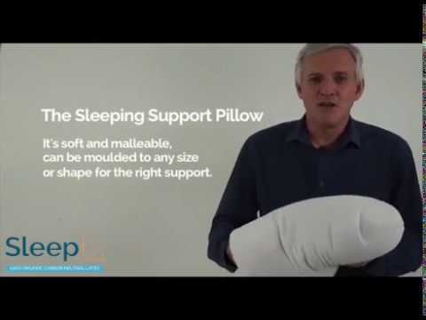 Sleep Made To Measure: The Sleeping Support  Pillow