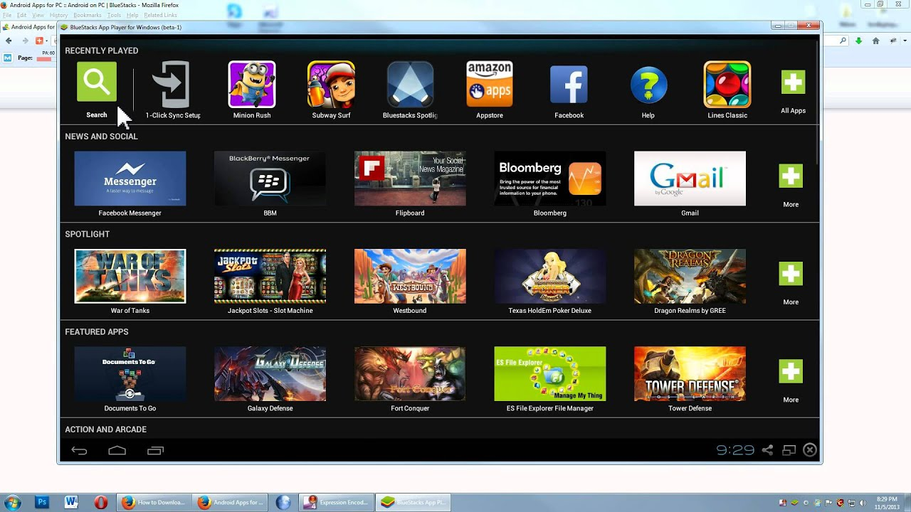 How To Download And Install Bluestacks App Player Youtube
