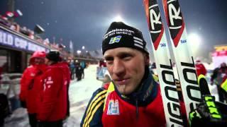 Happy Carl Johan Bergman in Khanty