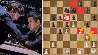 Double Blindness | Grischuk vs Ding Liren | Candidates Tournament 2018.