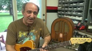 D-lab Ironwood Tube guitar amp Mp3 player practice recording demo
