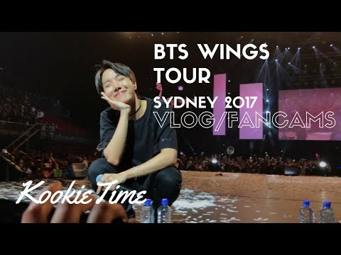 BTS Wings Tour In Sydney Concert Footage